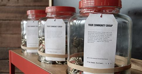 grilled community groups